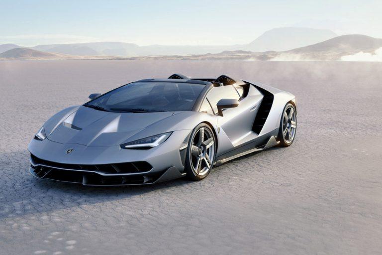 Lamborghini präsentiert den Centenario Roadster: Elegante Linien treffen auf technische Brillanz