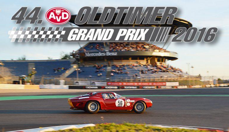 AvD Oldtimer Grand-Prix 2016 Nürburgring