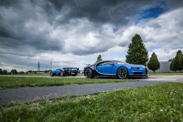 Bugatti beim Concours Chantilly Arts & Elegance Richard Mille