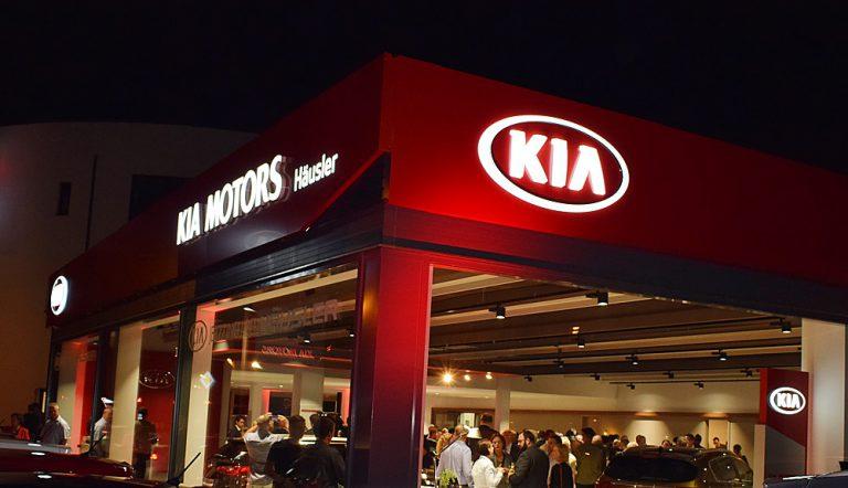 Neueröffnung KIA-Autohaus Häusler in Kelkheim