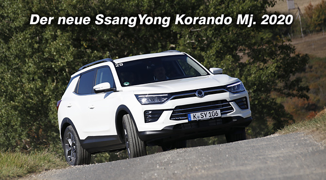 Der neue SsangYong Korando